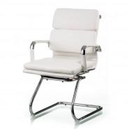 Конференционное  белое кресло Solano 3 conference white