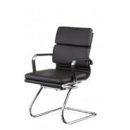 Конференционное кожаное кресло Solano 3 confеrеncе black