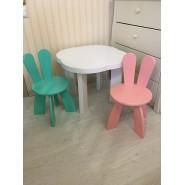 Детский игровой стол Облако и 2 стульчика
