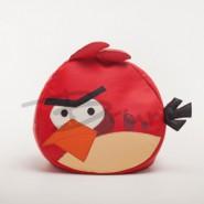 Бескаркасное детское кресло Red Angry Bird Medium