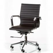 Офисное кресло конференционное Solano 5 artleather black