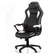 Кресло руководителя/геймерское кресло Nero black/white