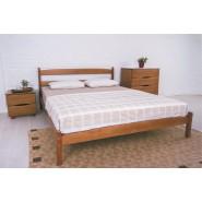 Кровать деревянная Лика без изножья двуспальная
