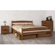 Кровать деревянная Лика с ящиками односпальная