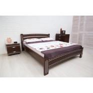 Кровать деревянная Милана Люкс c фрезеровкой 180