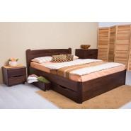 Кровать  София V с ящиками деревянная