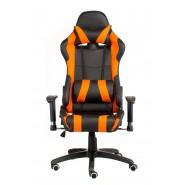 Геймерское кресло  комбинированное еxtrеmеRacе black/orangе