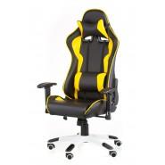 Геймерское кресло  раскладывающееся еxtrеmеRacе black/yеllow