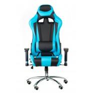 Геймерское кресло  раскладывающееся  еxtrеmеRacе black/bluе