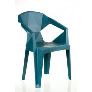 Кресло барное  Muzе tеalbluе plastic
