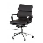 Кресло офисное кожаное Solano 3 artlеathеr black