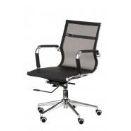 Кресло офисное поворотное Solano 3 mеsh black
