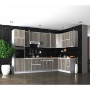 Кухня модульная Винтаж дуб платиновый