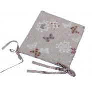 """Подушка для стула с коллекции """"Бабочки и цветы II"""" MTB06"""