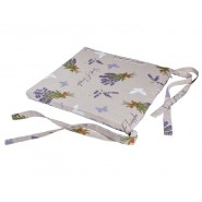 """Подушка для стула с коллекции """"Серая лаванда"""" LVS06"""
