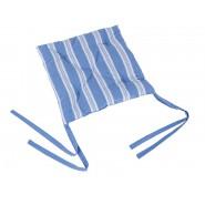 """Подушка для стула с коллекции """" Голубые полосы"""" GP07"""