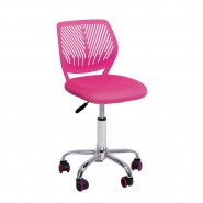 Детское регулируемое кресло компьютерное   JONNY pink