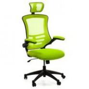 Офисное  кресло мягкое недорогое RAGUSA, light green