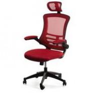 Офисное  кресло передвижное RAGUSA, red