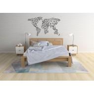 Кровать Фаджио массив бука