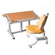 Комплект парта KD-338 + Кресло K-639 разные цвета