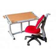 Комплект парта KD-338 + Кресло KY-318 разные цвета