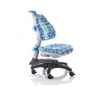 Кресло ортопедическое Ростишка KY-318 BA голубое с животными