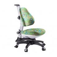 Кресло ортопедическое Ростишка KY-318 soccer  салатовое с рисунком