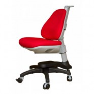 Кресло ортопедическое Ростишка KY-318 RF красный однотонный