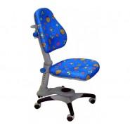 Кресло ортопедическое Ростишка KY-618 B синее с жуками