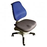Кресло ортопедическое Ростишка KY-618  BF сине-серое