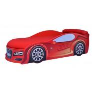 Кровать Машина Ауди красная