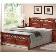 Кровать Genewa 160 Деревянная