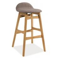 Деревянный барный стул Trento