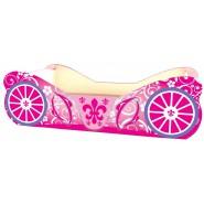 Кровать Карета розовая