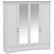 Шкаф 4ДВ с зеркалами Бланка Висент